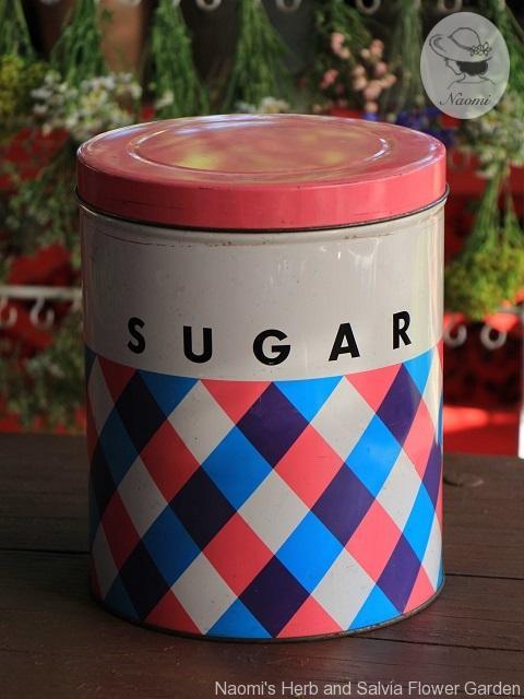 昭和レトロな砂糖缶 松坂屋