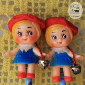 昭和レトロなお土産の鉛筆① - お人形