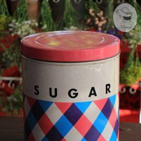 昭和レトロな砂糖缶⑤ - 松坂屋