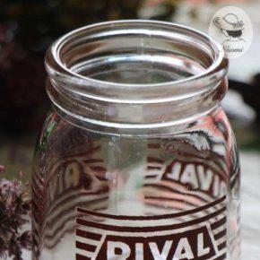ビンテージのヨーグルト瓶② - Rival