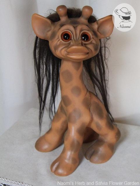 Thomas Dam Giraffe Troll キリン トロール人形