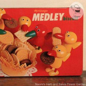 森永メドレービスケット缶④ – 鳥たち