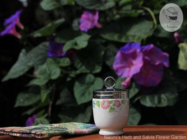ロイヤルウースターのエッグコドラー English Garden Pattern