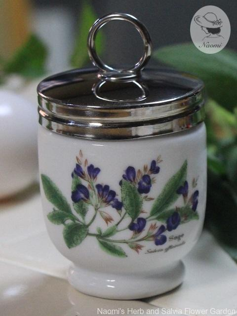 ロイヤルウースターのエッグコドラー Worcester Herbs Pattern Standard Size