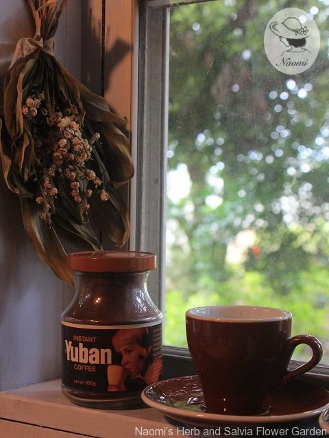 ユーバンコーヒーの昭和レトロな瓶