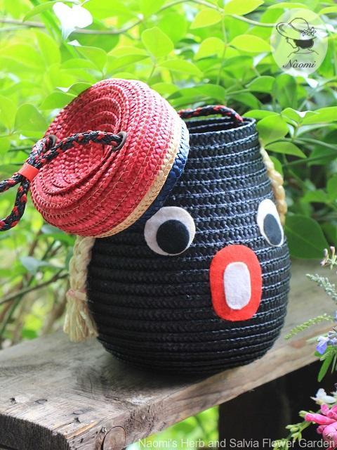 昭和レトロな子供のストローバッグ
