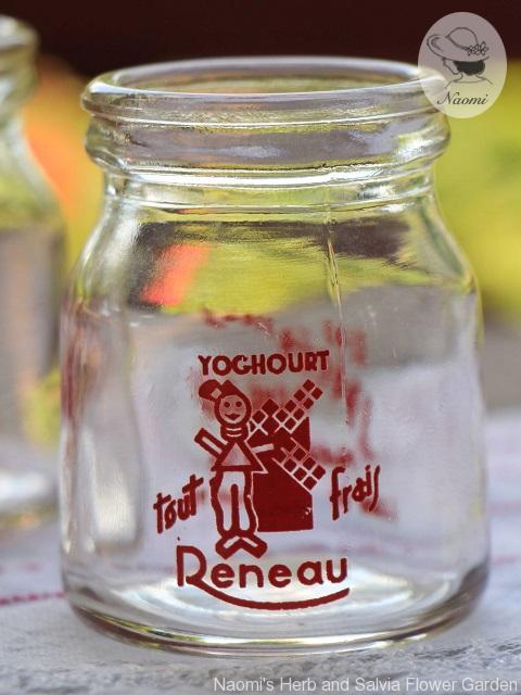 ビンテージヨーグルト瓶 Vintage Yogurt Pot Reneau