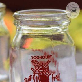 ビンテージのヨーグルト瓶③ - Reneau