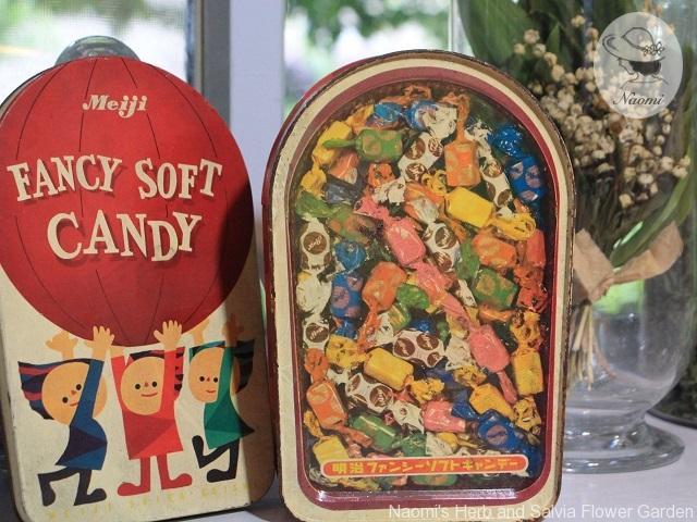 明治ファンシーソフトキャンデーの缶