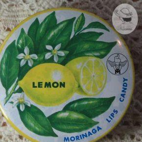 森永リップスキャンデー缶④ – レモン