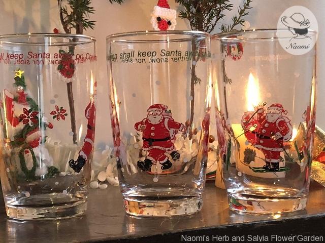 サンリオ80年代クリスマス サンタのグラス