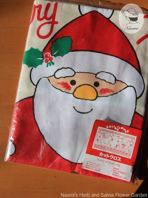 サンリオ80年代 クリスマスクッション用のカットクロス