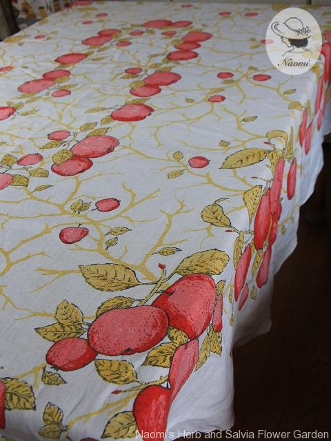 ビンテージ テーブルクロス Fallani Cohn Tablecloth Luther Travis