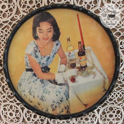昭和レトロな小物入れ 赤玉ポートワイン