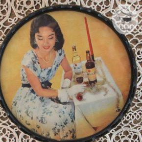 昭和レトロな小物入れ ~ 赤玉ポートワイン
