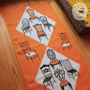 タミス キーフのビンテージティータオル - 椅子
