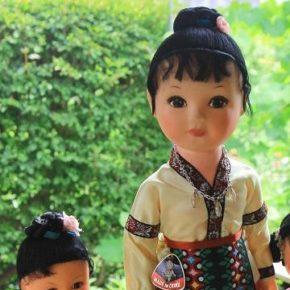 中国民族人形